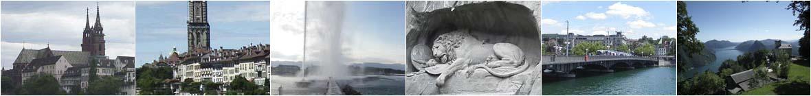 Suiza. Guía de viajes y turismo.